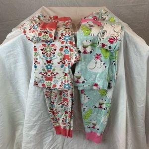 Hanna Anderson Organic Cotton Girls PJs
